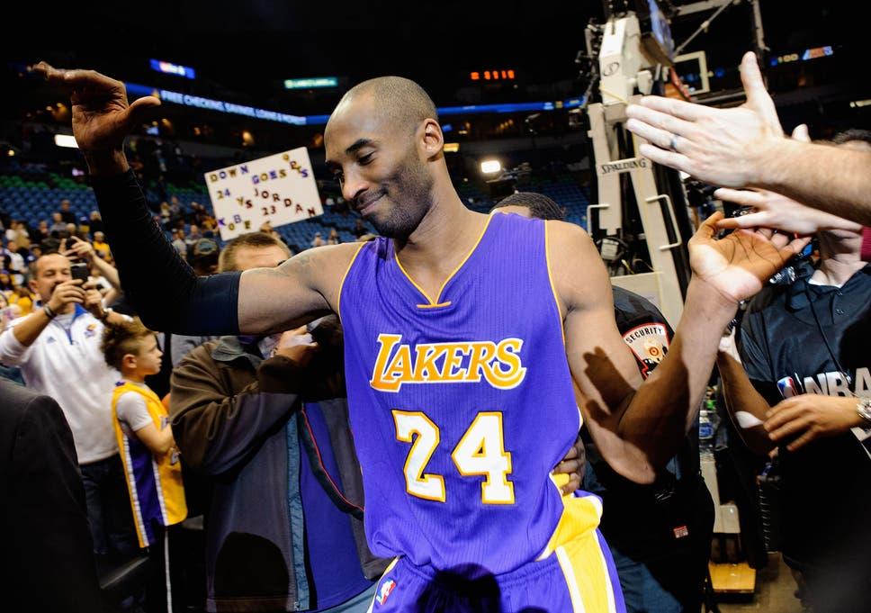 631c396dbf1 Kobe Bryant: Los Angeles Lakers star passes Michael Jordan for third on NBA  all-time scoring list