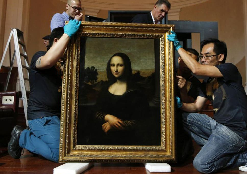 early mona lisa unveiling the one in a million identical twin to