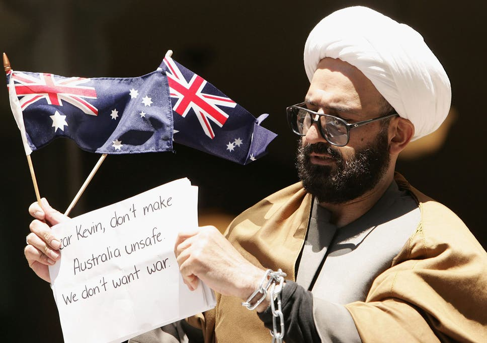 Man Haron Monis, who emigrated to Australia from Iran in 1996, claimed he  had