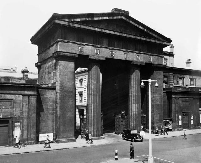 John Hayes, Minister of State at the Department of Transport, wants to restore the Euston Arch