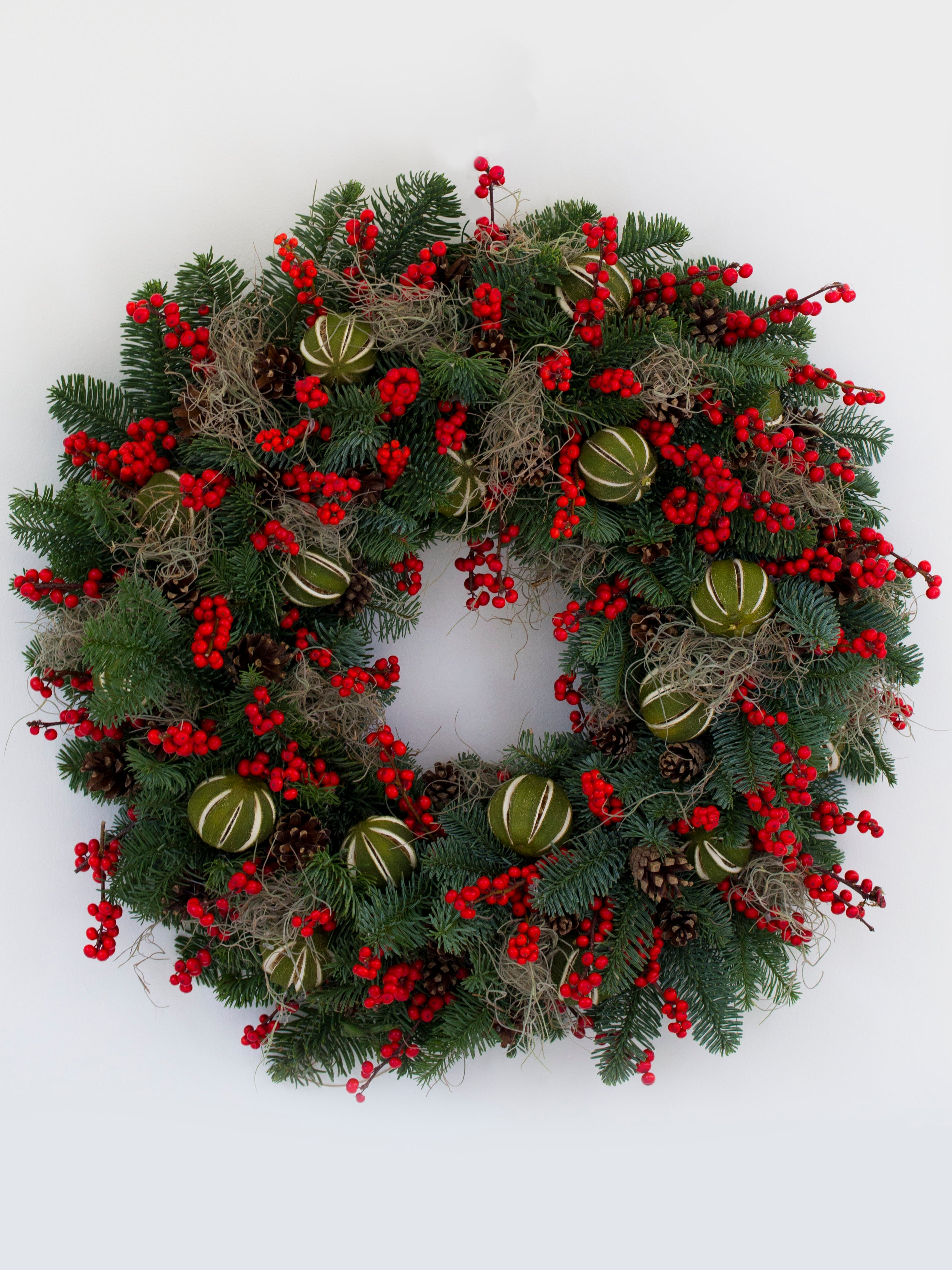 Non Christmas Winter Wreaths.Christmas 2014 11 Best Real Wreaths The Independent
