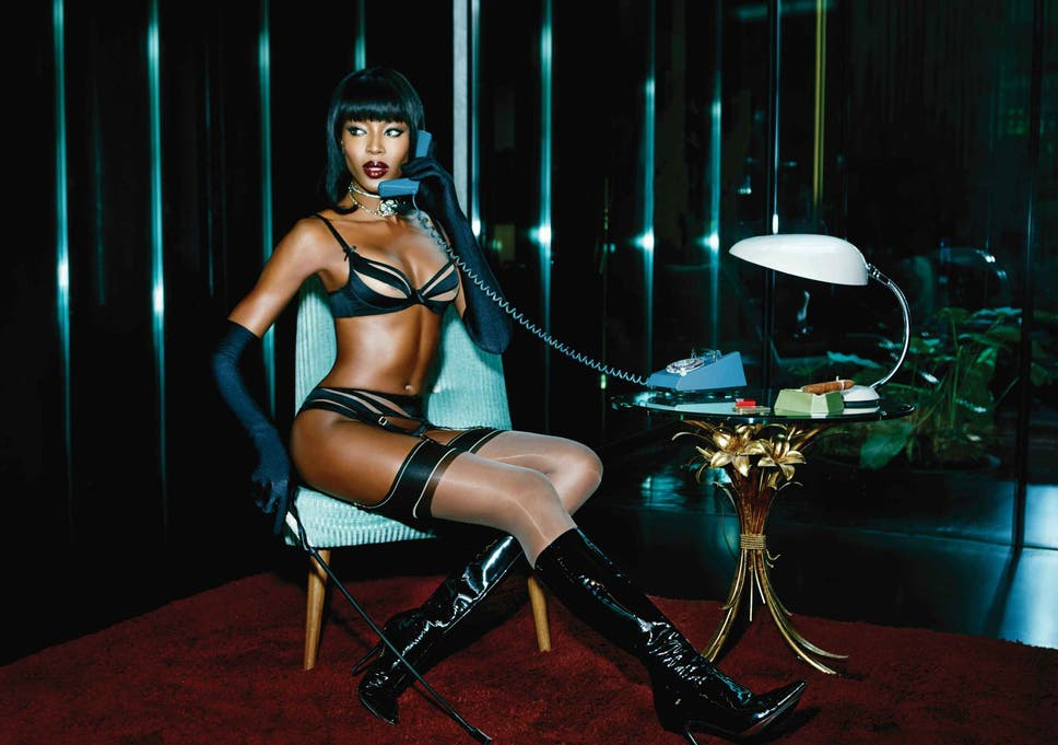 Naomi Campbell stars in raunchy new Agent Provocateur campaign  3cba20aee