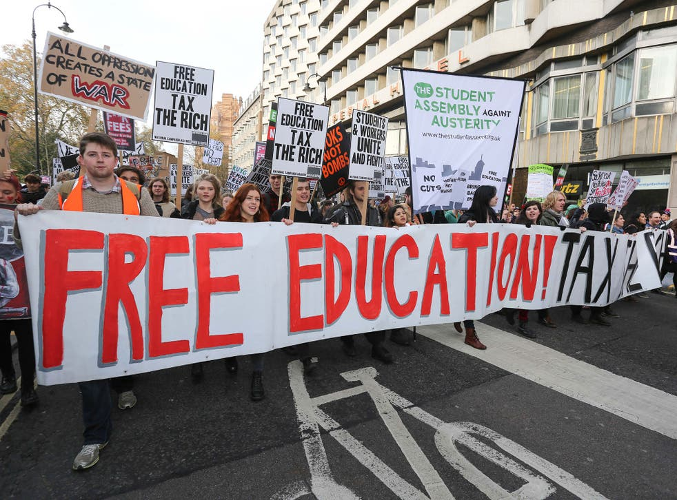 Tensions have been increasing across parts of the UK as students continue to protest against the rising cost of higher education