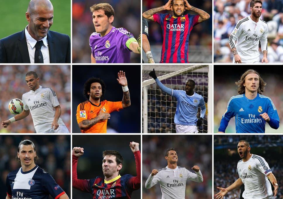 Zinedine Zidane best XI: Who joins usual suspects Cristiano
