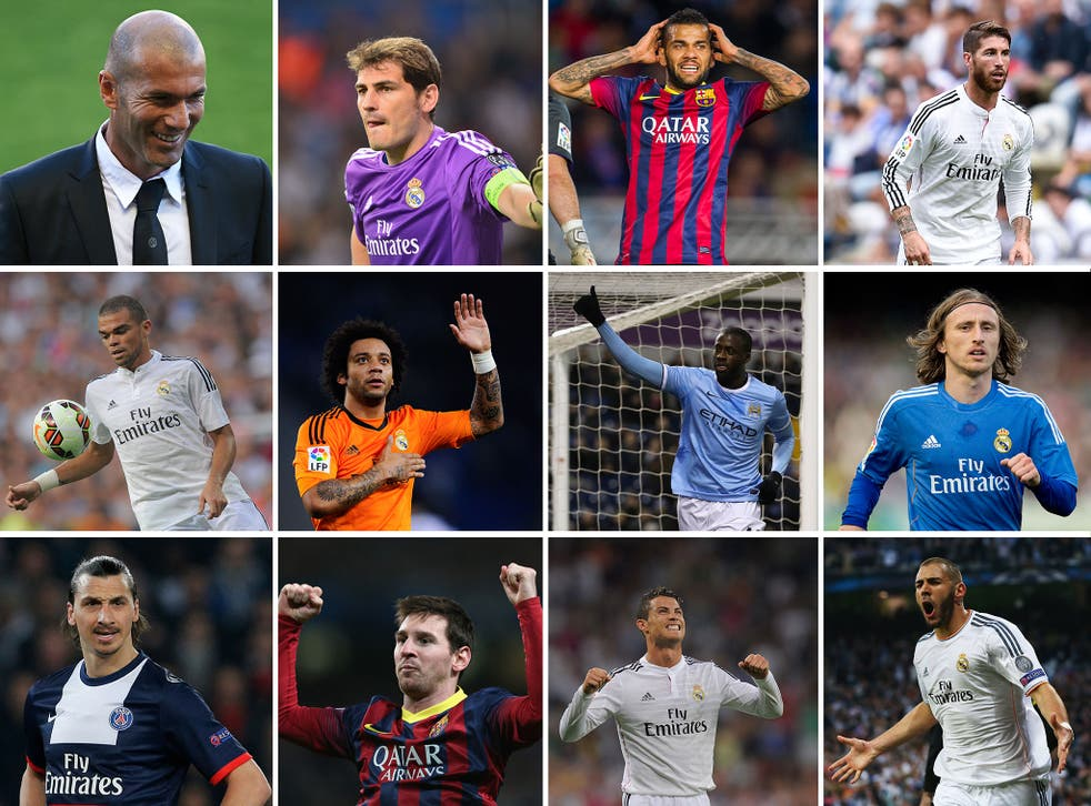 Zinedine Zidane's Best XI