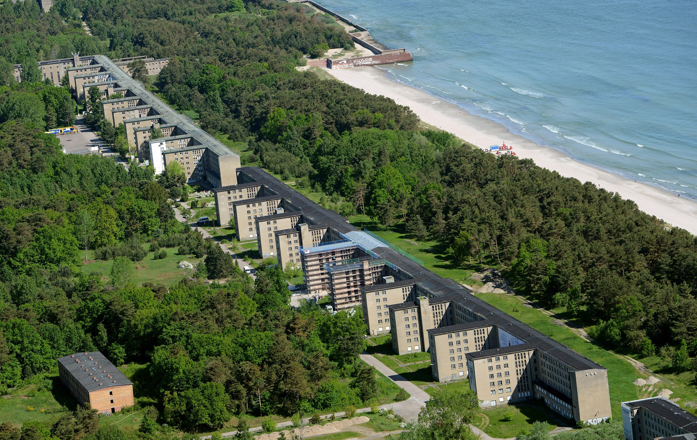 Hitler s holiday paradise is reinvented as condos hotels for Nazi holiday resort