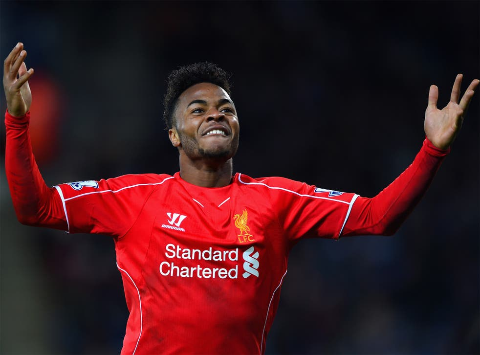 Raheem Sterling has been described as a 'talisman' by his manager