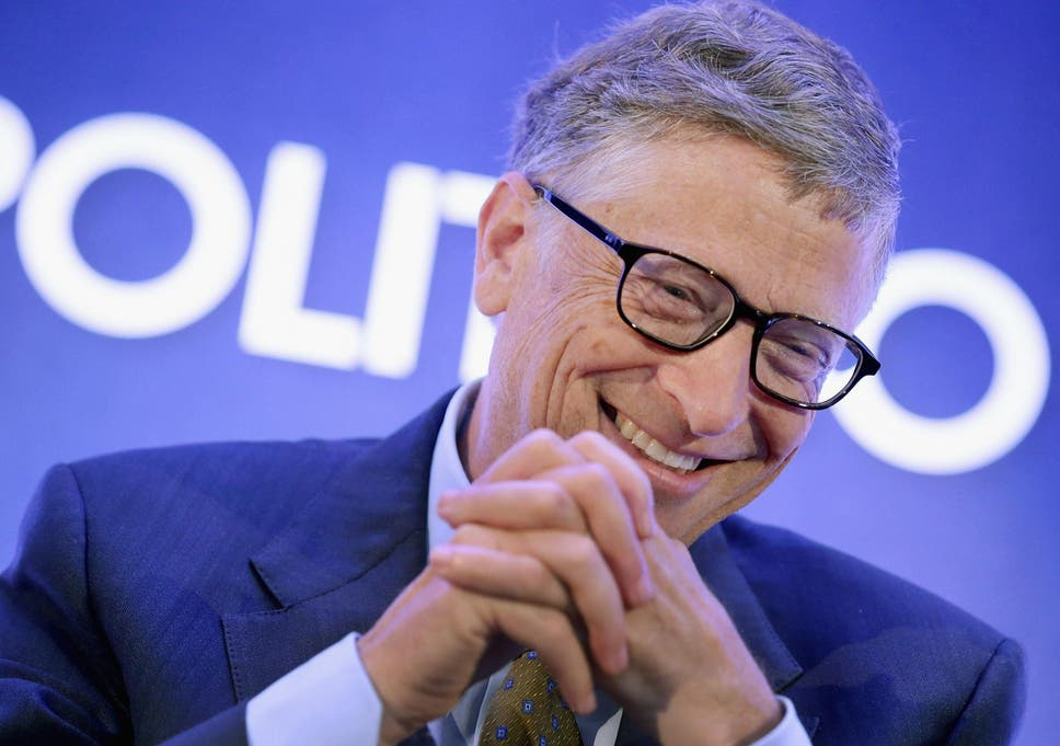 Microsoft Co Founder Bill Gates Reminds Us Of The Good News Of