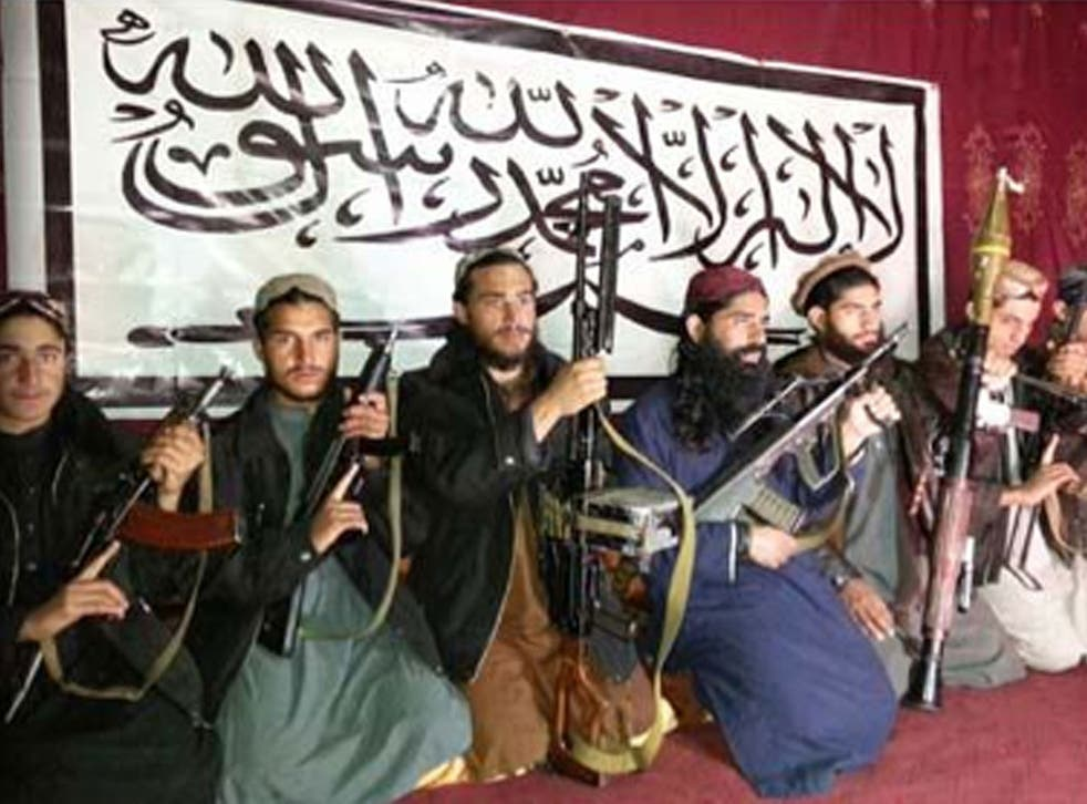 The Taliban fighters who stormed a military-run school in Peshawar, Pakistan on Tuesday, in an image released by the Pakistani Taliban