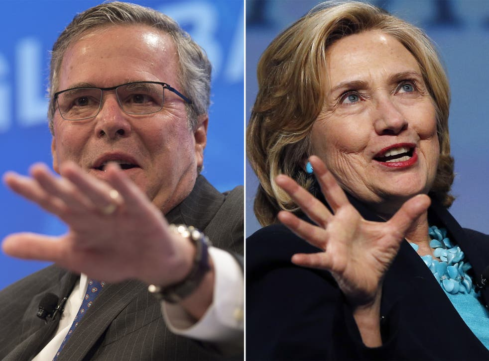 Two tribes: if Hillary Clinton runs against Jeb Bush it will continue a political dynasty stretching back 30 years