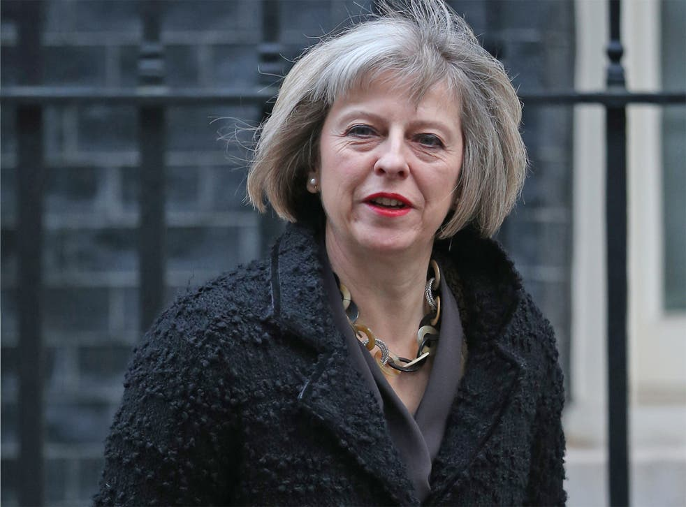 The report will embarrass the Home Secretary, Theresa May