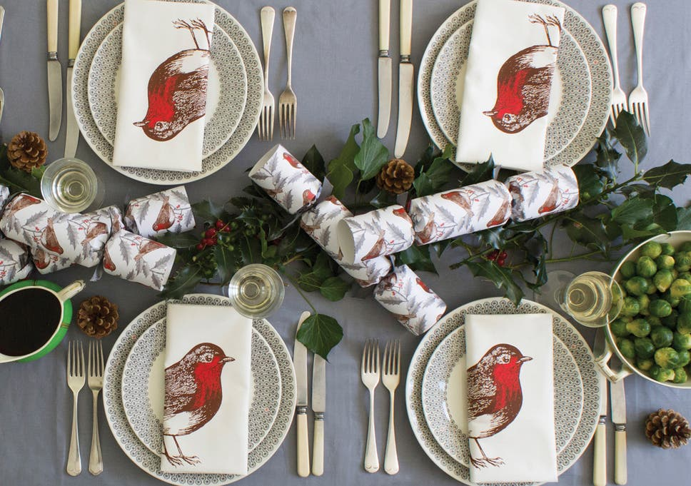 from festive placemats and napkins to freshly made centrepieces indybest finds decorative pieces to enliven your christmas table