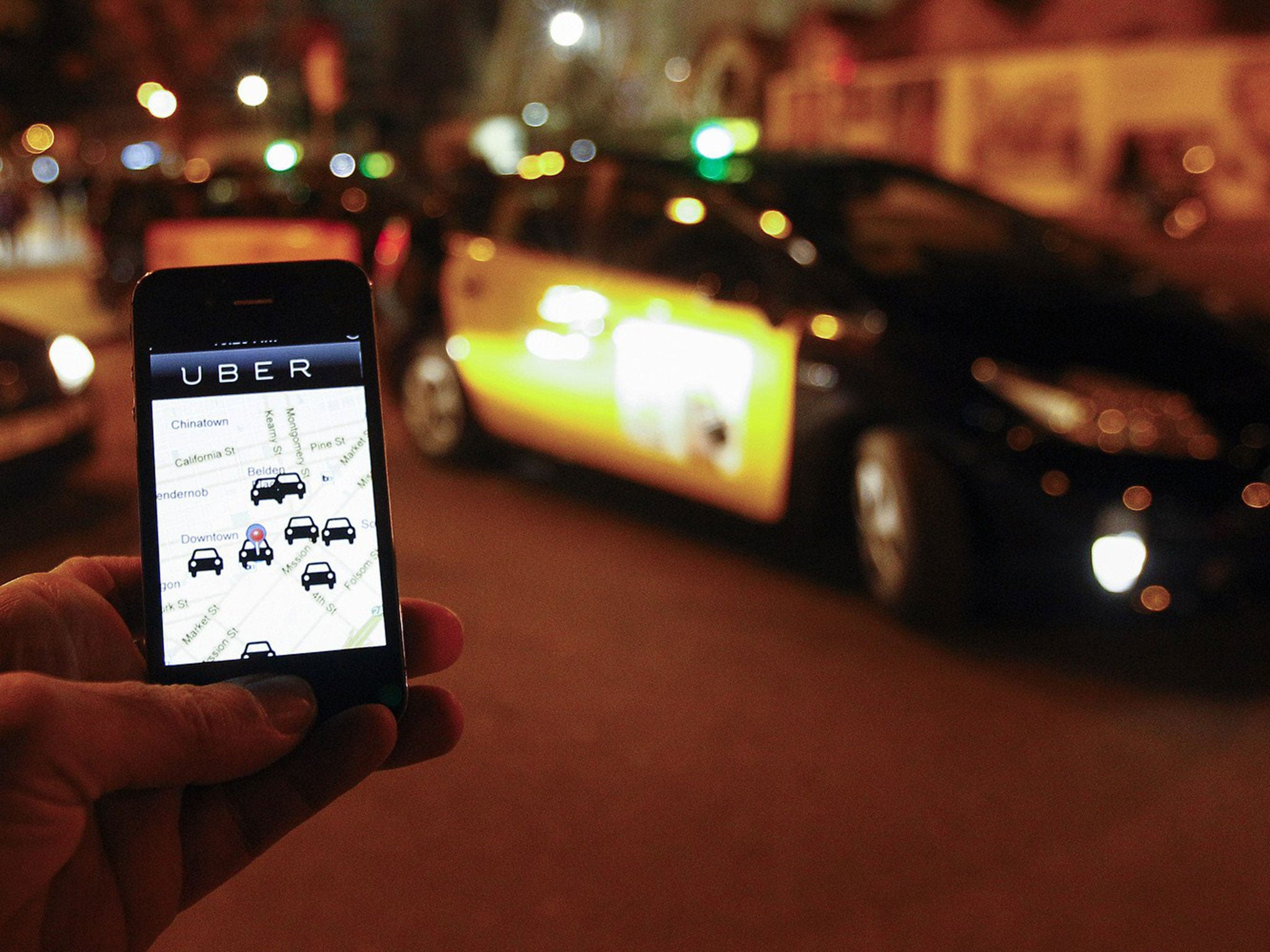 Uber Adverts Removed From Tfl Websites After Complaints From London Cabbies The Independent The Independent