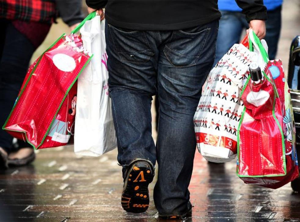 Overall spending in the final few days before Christmas is expected to be 7 per cent higher than last year, with many consumers going into debt to fund it