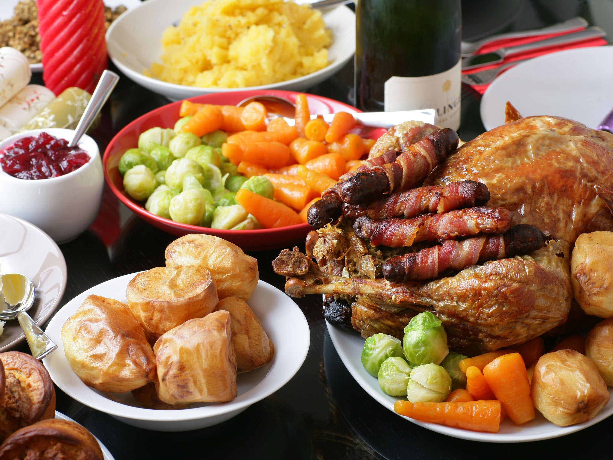 Uk 39 s favourite food to eat on christmas day revealed the for What do you eat on thanksgiving list