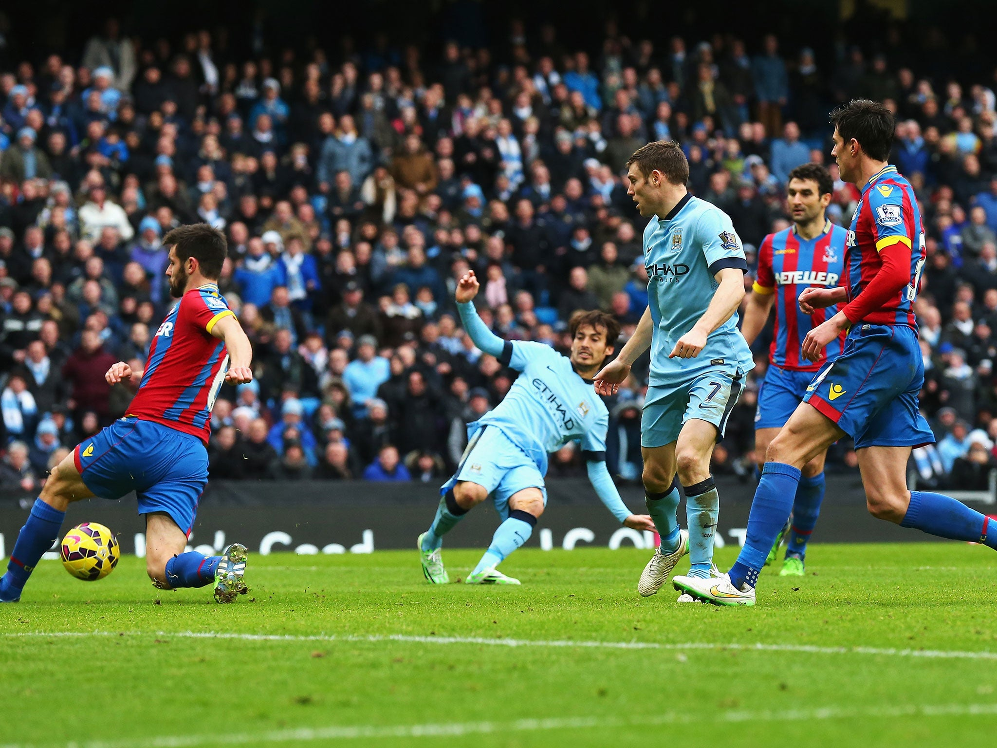 Manchester City vs Crystal Palace report: Three-and-easy ...