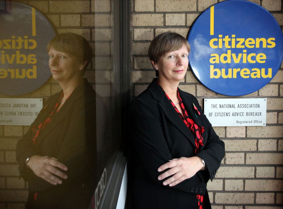 Gillian Guy, chief executive of Citizens Advice