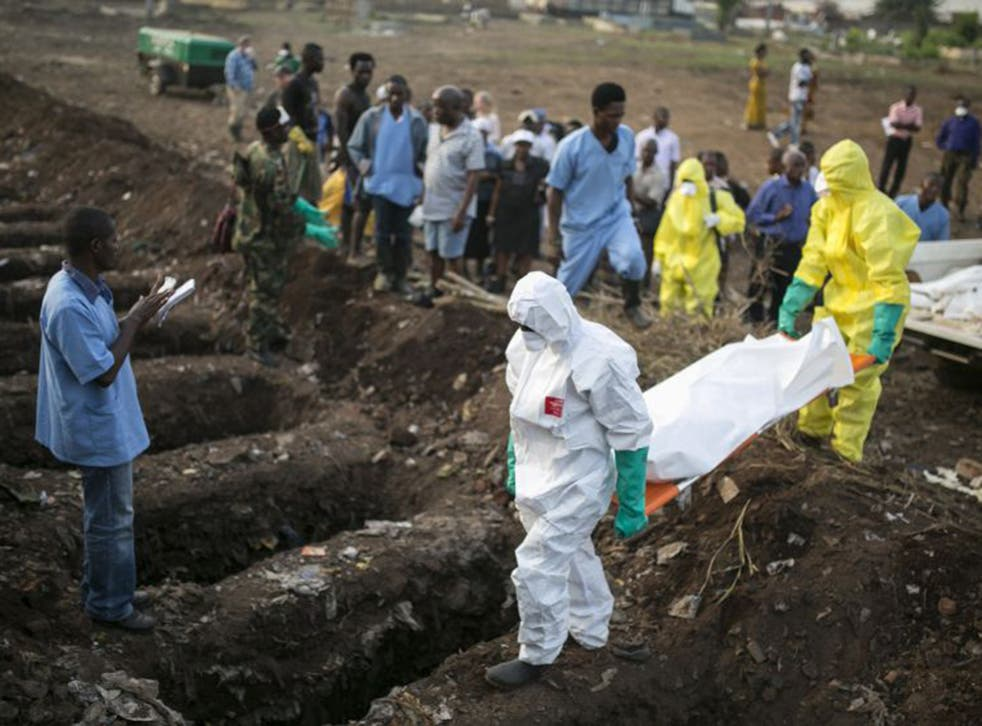Freetown's fresh graves; more than 2,000 Sierra Leoneans have died from Ebola (Reuters)