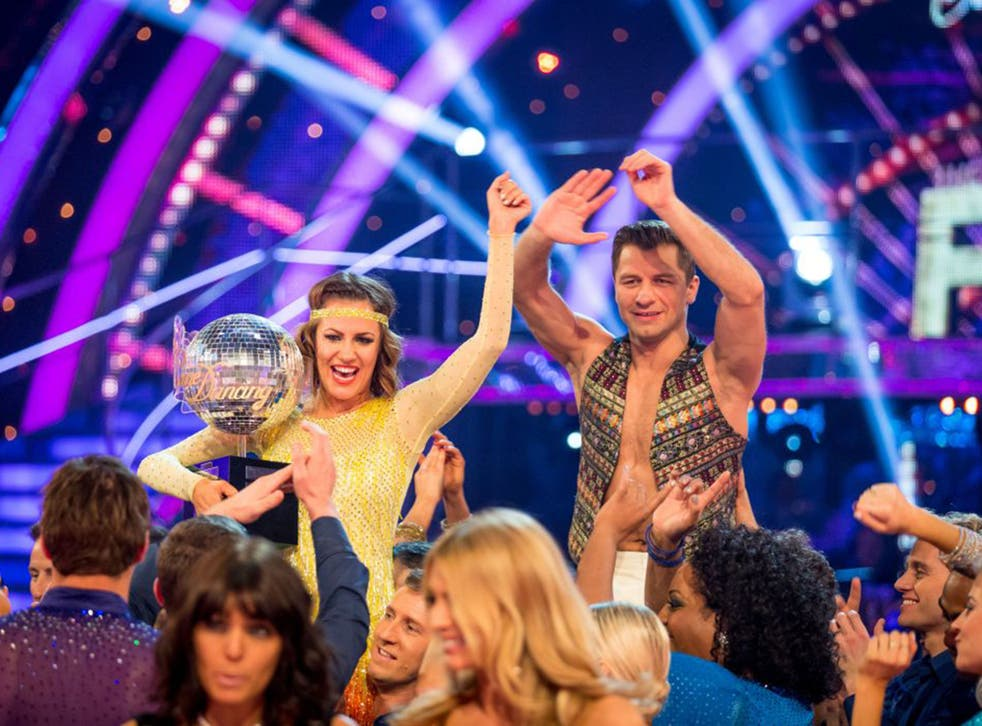 Caroline Flack became the tenth winner of Strictly Come Dancing