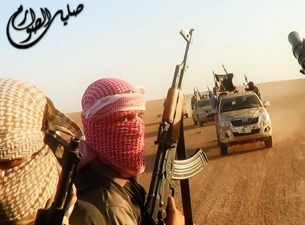 An Isis propaganda video purporting to show fighters near the Iraqi city of Tikrit