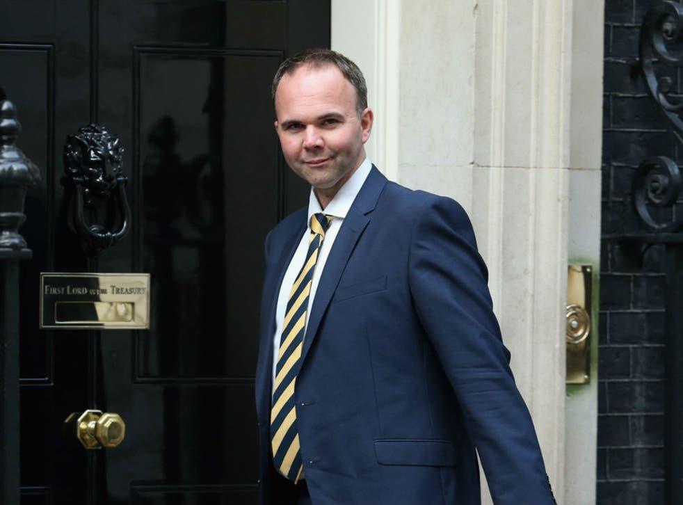 Tory housing minister Gavin Barwell