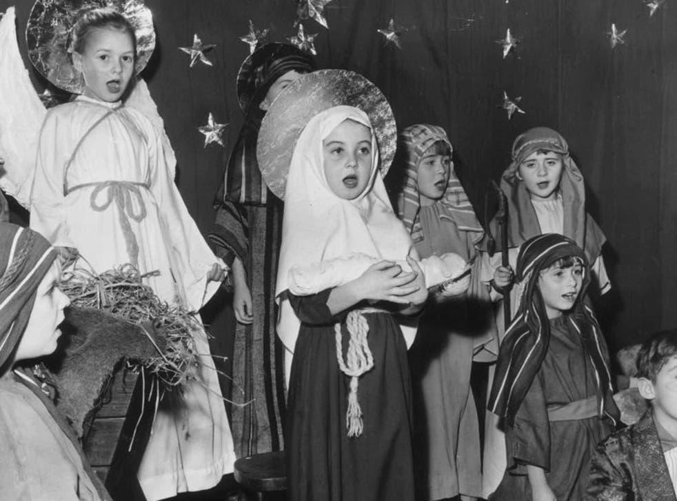 I love the nativity as well as Christmas tat
