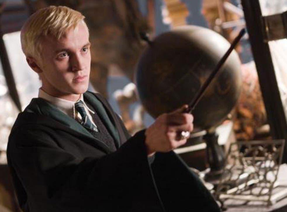 Tom Felton plays evil Harry Potter character Draco Malfoy