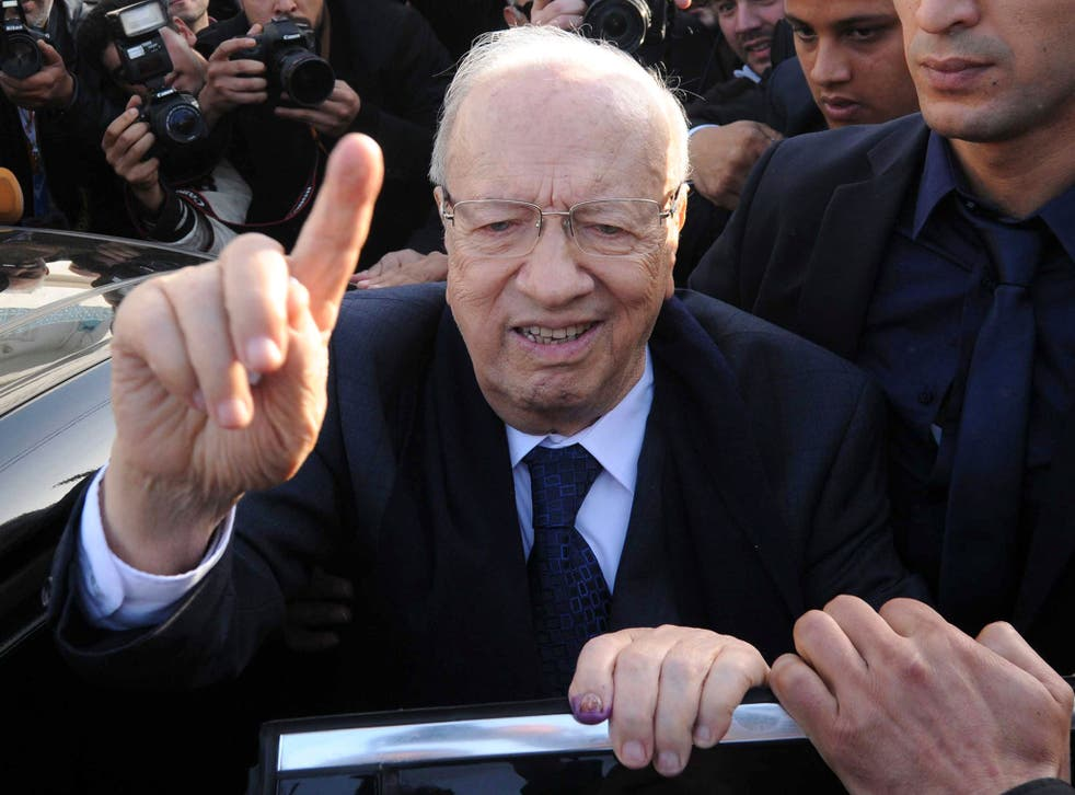 Beji Caid Essebsi, 88, a veteran of the political establishment, has been voted in as President, according to official results in the first full, free presidential election since independence in 1956