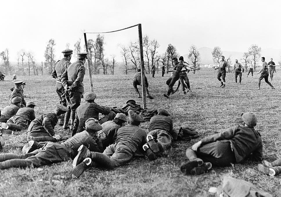Christmas Day Football Schedule.The Muddy Truth Of The Christmas Truce Game The Independent