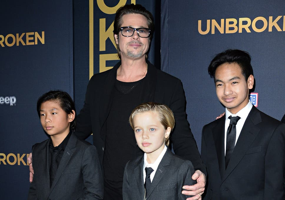 Angelina Jolie And Brad Pitt Praised For Supporting Childs