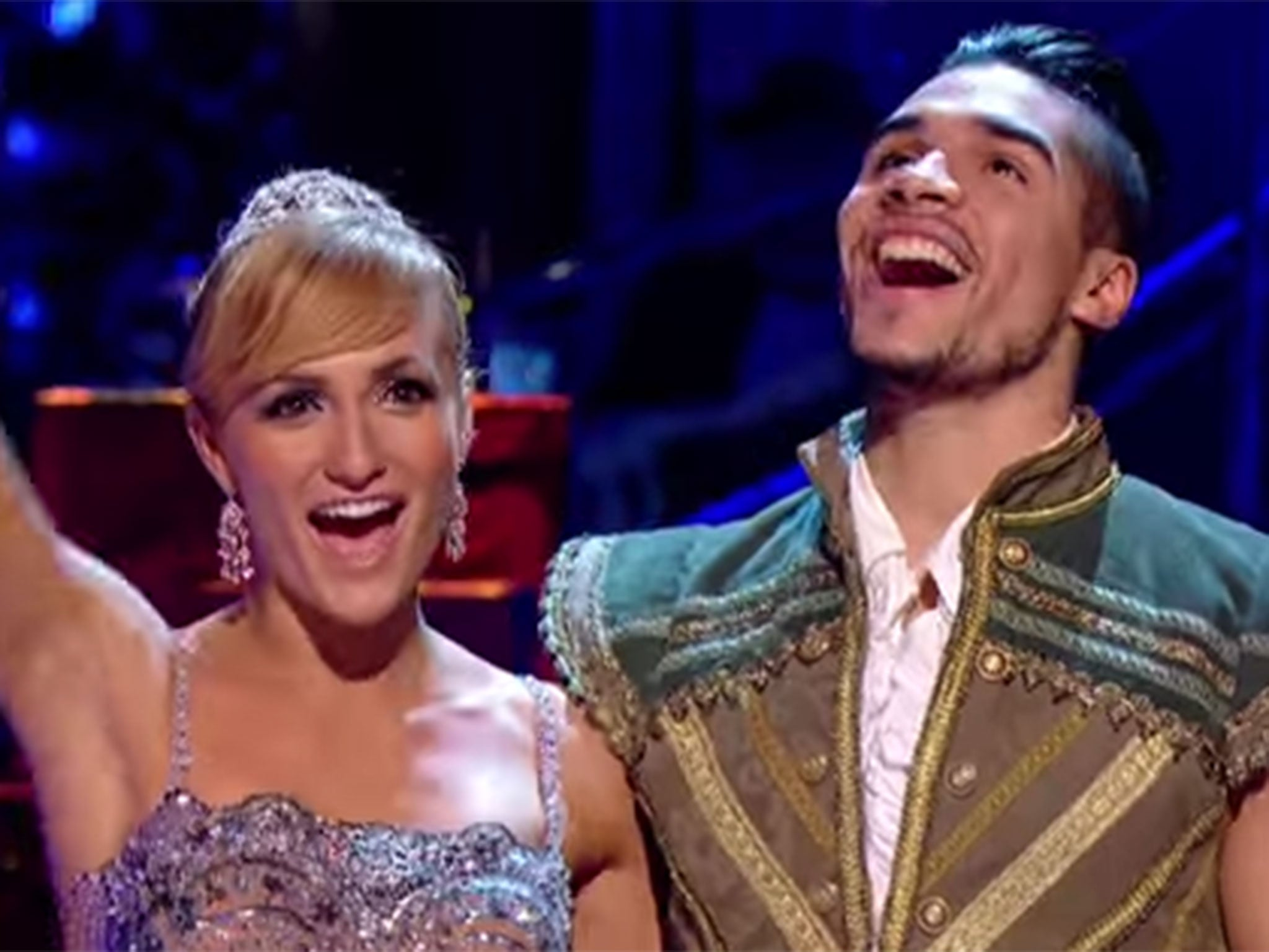 Strictly Come Dancing Christmas Special Louis Smith Wins As Sir
