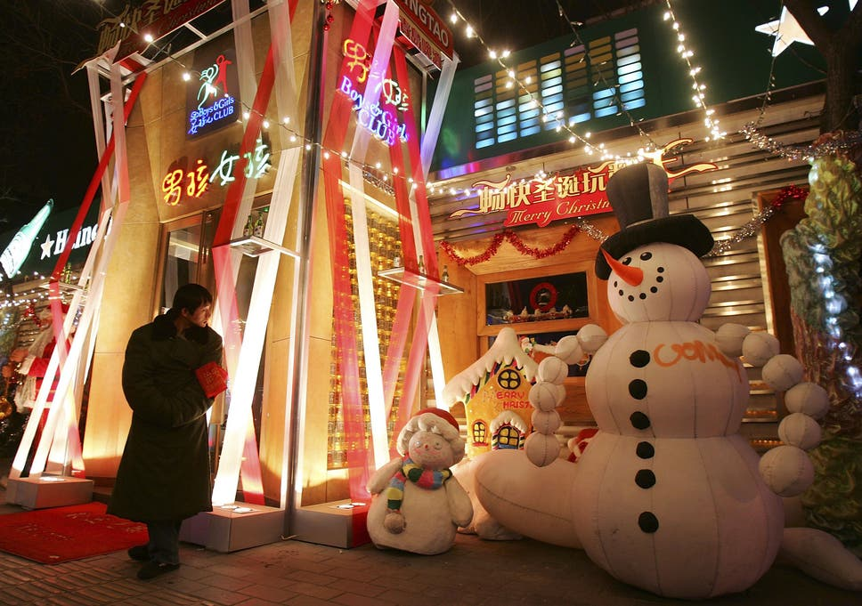 in china western traditions such as the christmas day valentines day and halloween have