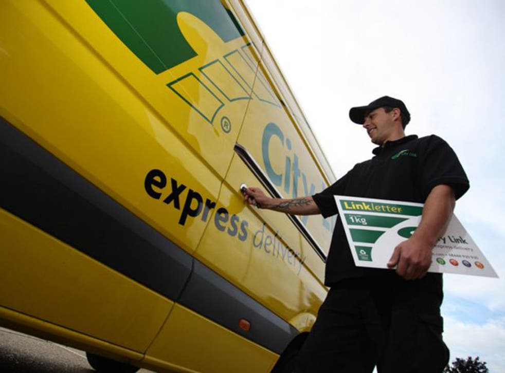 Parcel delivery company City Link employs 2,727 workers