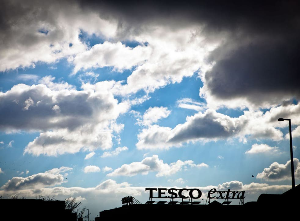 In 2014, Tesco lost half its value