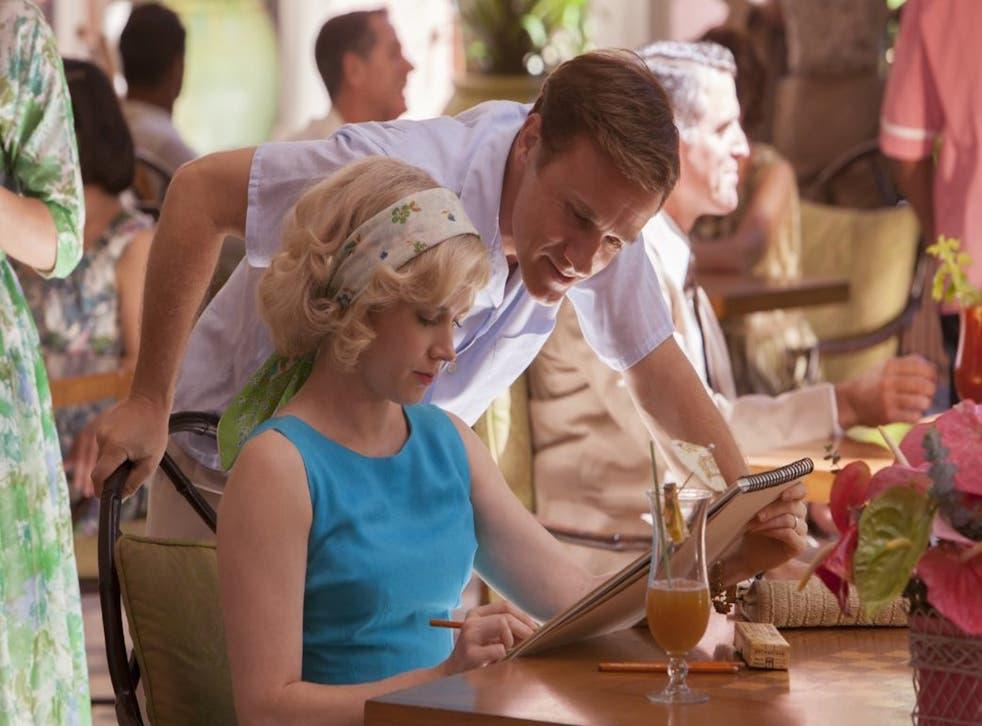 Amy Adams and Christoph Waltz in Tim Burton's Big Eyes