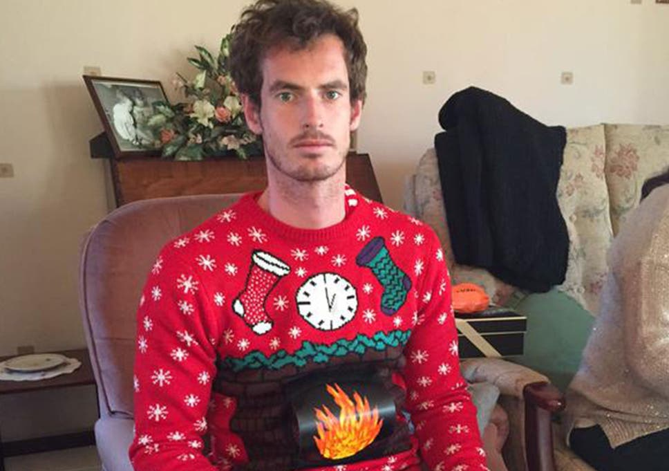 Andy Murray takes to Twitter to show off his Christmas jumper   The ...