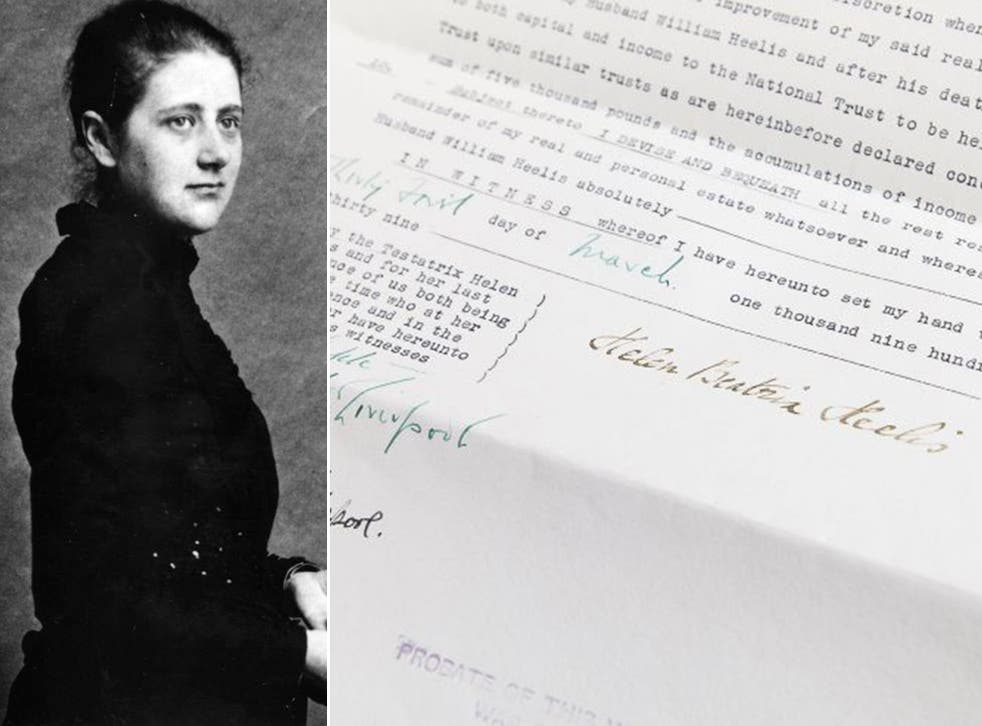 The will of Helen Beatrix Heelis, better known as Beatrix Potter, was among those to be archived