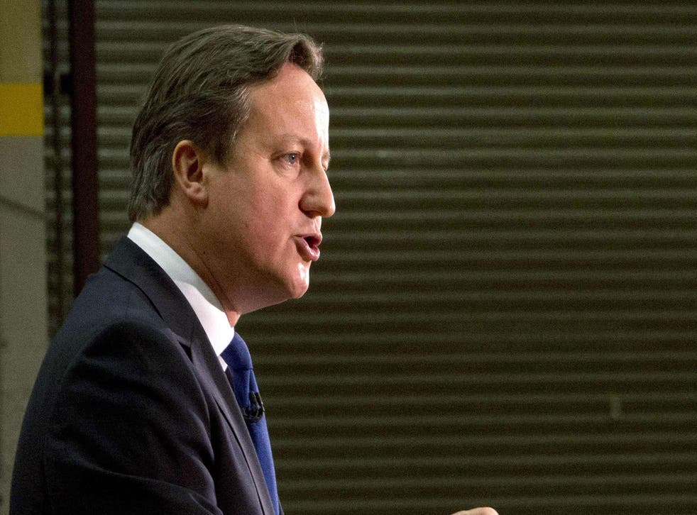 Labour's decline in the opinion polls has not lifted David Cameron's party (Reuters)