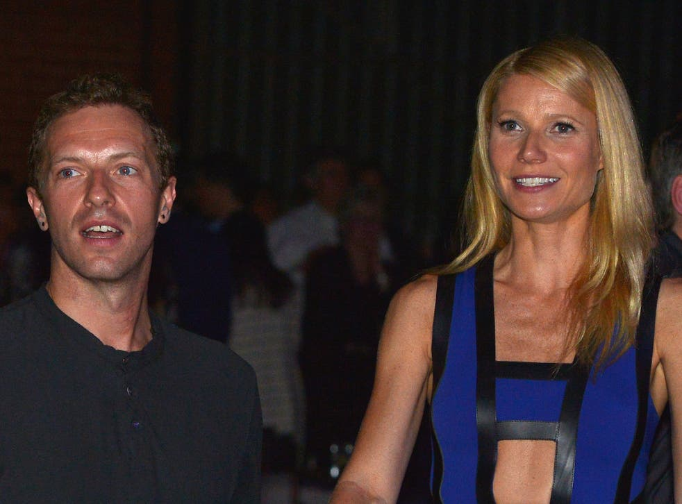 """Gwyneth Paltrow and Coldplay's Chris Martin """"consciously uncoupled"""" in March"""