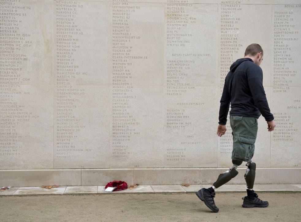 Living former servicemen deserve our respect as much as fallen comrades
