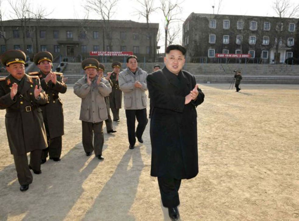 Kim Jong-un is the subject of an assassination attempt as part of the plot of 'The Interview' (AFP)