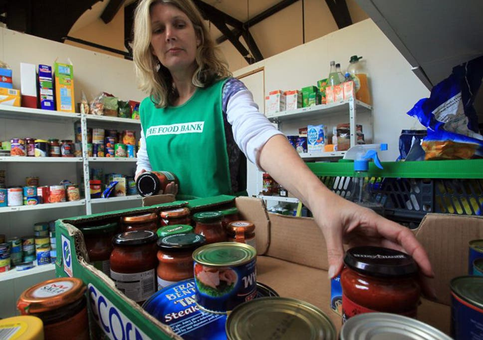 Britains Busiest Food Bank Helps 50000 People Every Year