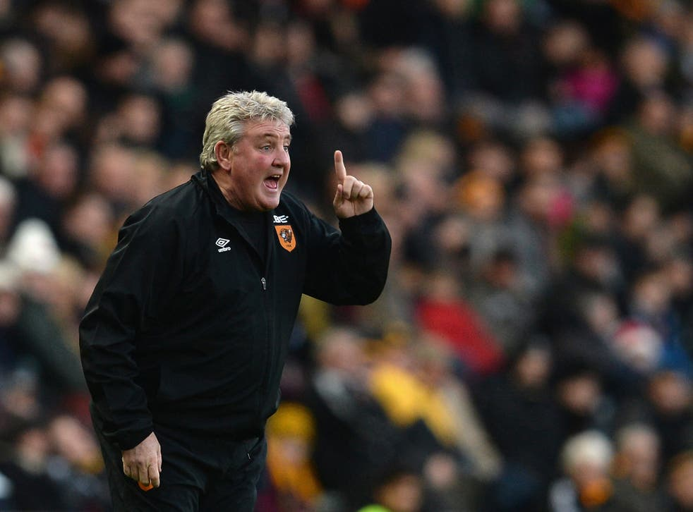 Steve Bruce sees his team lose to Leicester