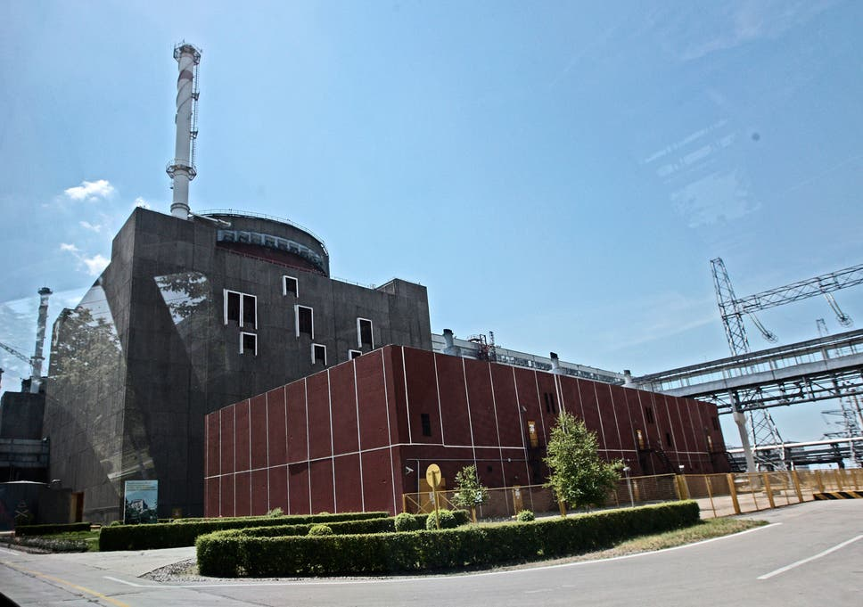 One unit of Ukraine's Zaporozhiya nuclear power plant, the largest in  Europe, has been
