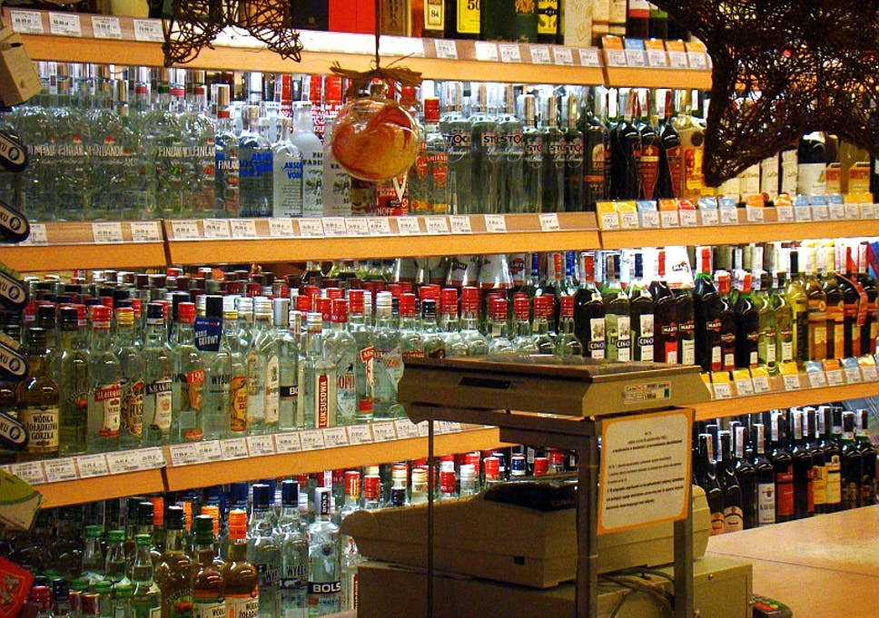 How to make sure you don't accidentally buy counterfeit vodka made