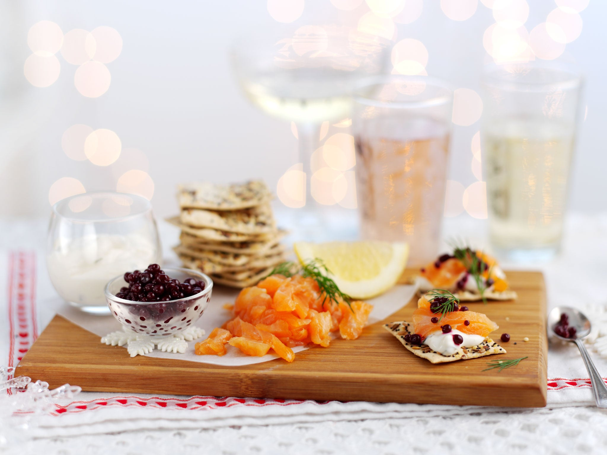 14 best canapés for New Year's Eve   The Independent