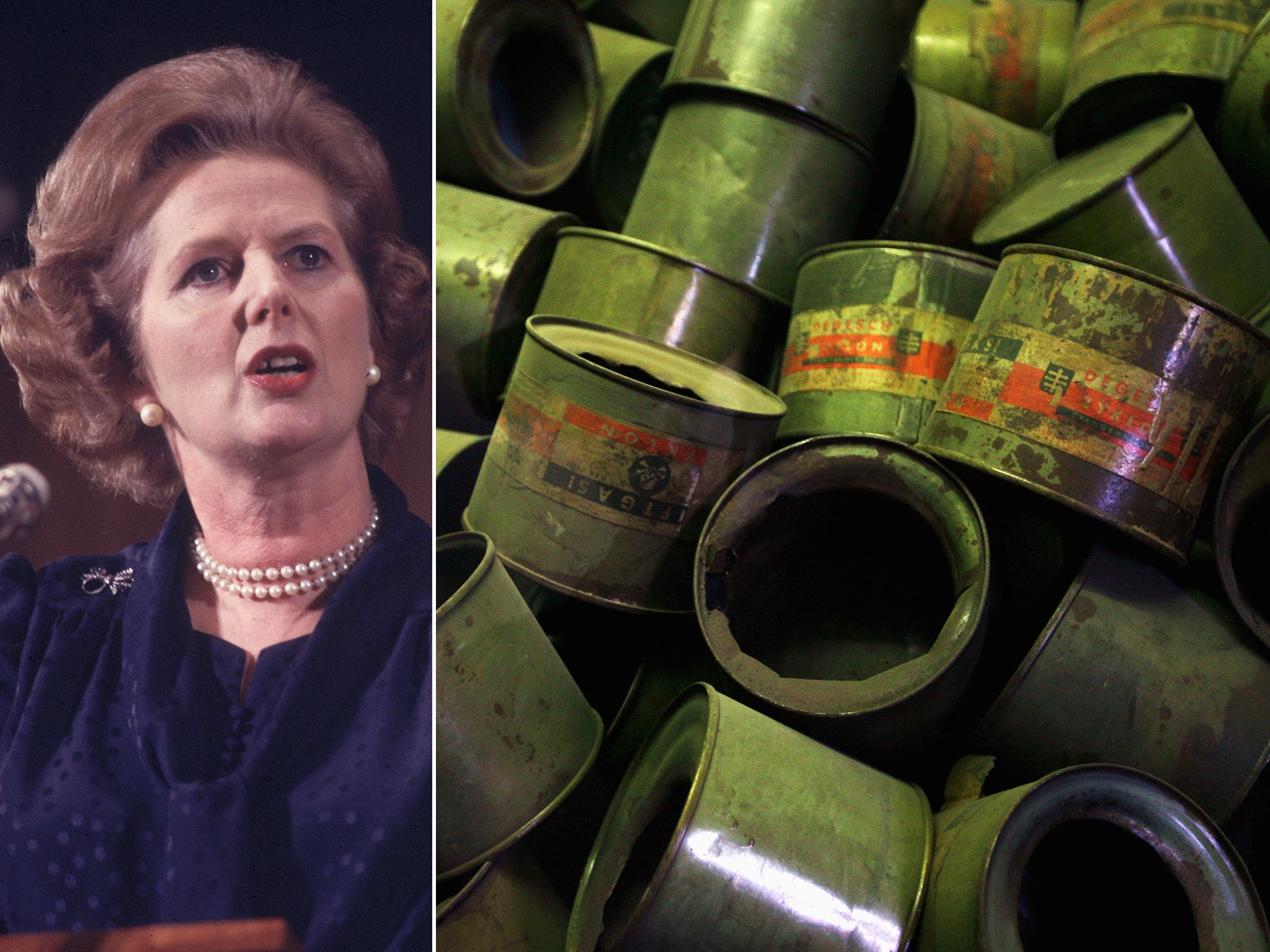 Margaret Thatcher secret papers: How former PM nearly rearmed Britain with chemical weapons