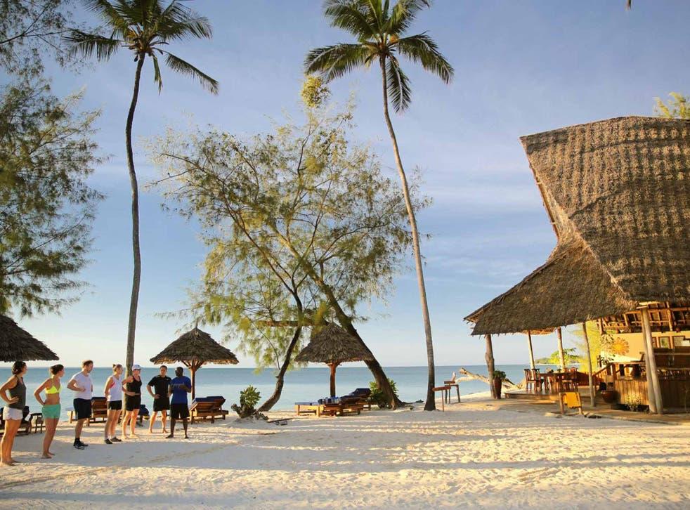 In Zanzibar with Wild Fitness