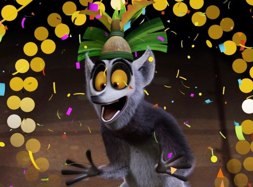King Julien will countdown to the New Year on Netflix