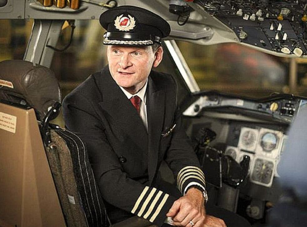 Senior Virgin Atlantic pilot David Williams